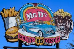 Mr. D'z Diner, Kingman, Arizona, USA