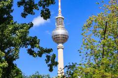 Berliner Fernsehturm, Berlin, Tyskland