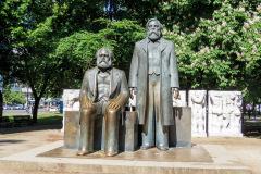 Marx-Engels-Forum, Berlin, Tyskland