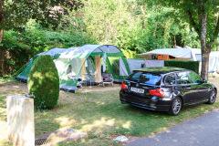 Campingpladsen, Kaysersberg, Alsace, Frankrig