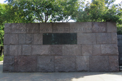 Franklin Delano Roosevelt Memorial, Washington D.C., USA