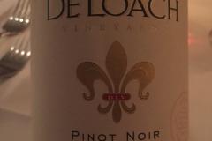 Winemakes Dinner på MASH med vine fra De Loach fra Californien.