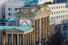 Brandenburger Tor set fra Reichstag, Berlin, Tyskland