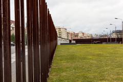 Gedenkstätte Berliner Mauer, Bernauer Strasse, Berlin, Tyskland