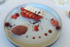 Frokost på 2 stjernede JY'S i Colmar.