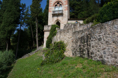 Hyggeligt ophold med middag på Villa De Winckels, Tregnago, Veneto, Italien. Vi fik tårnværelset oppe på bakken, megalækker oplevelse, på nær den halve million trin derop.