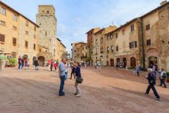 San Gimignano, Toscana, Italien