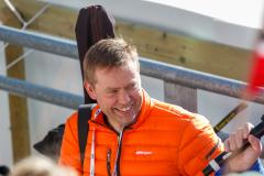 Norsk skiskydningslegende Halvard Hanevold