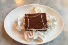 Middag på The Stinking Rose, San Francisco, Californien, USA. Sjovt sted hvor næsten alle retter indeholder hvidløg, rigtigt meget hvidløg endda. På nær desserten, hvilket er skuffende... :-)