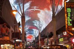 Freemont Street Experience, Las Vegas, USA