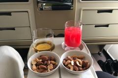 Hårdt arbejde på Business Class med Singapore Airlines fra Adelaide til Singapore