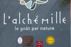 Frokost på L'Alchemille i Kaysersberg, Alsace. En fantastisk restaurantoplevelse.