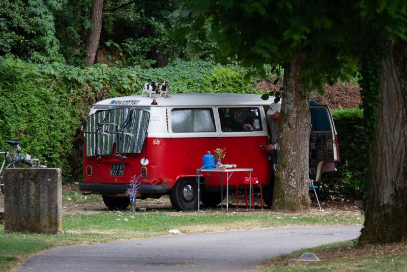 Doktor Livingstone er ankommet til campingpladsen i Alsace