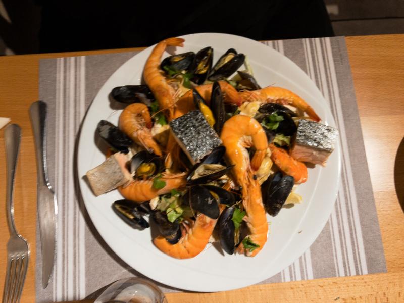 Lækker mad hos Stewala i Turckheim i Alsace