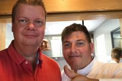 Besøg hos L'Alchemille i Kayserberg og selfie med Jérôme Jaegle