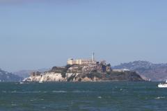 Alcatraz set fra Pier 39, San Francisco, USA