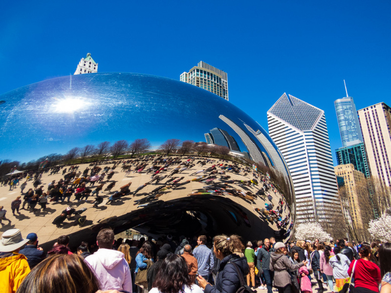 Cloud Gate, Chicago, Illinois, USA