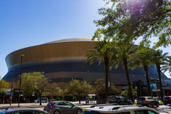 Mercedes Benz Superdome, Home of New Orleans Saints, New Orleans, Louisiana, USA