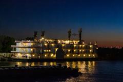 Jazz Cruise med middag og Jazzmusik på Mississippi, New Orleans, Louisiana, USA