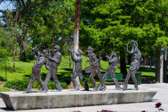 Louis Armstrong Park, New Orleans, Louisiana, USA