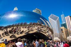 Cloud Gate, Chicago, Illinois, USA