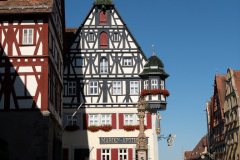 Rothenburg ob der Tauber, Bayern, Tyskland