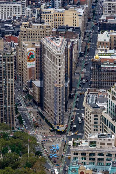 Udsigten fra Empire State Building, New York, USA