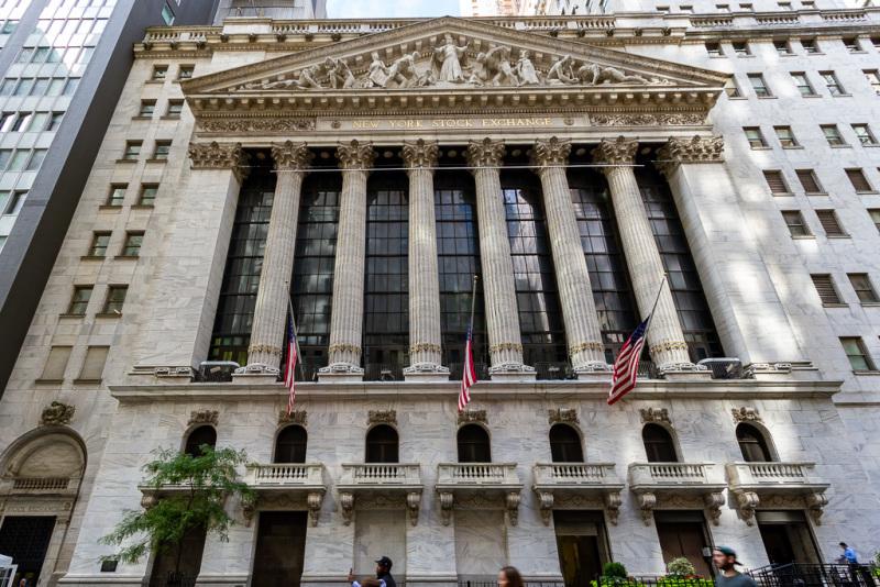 Børsen på Wall Street