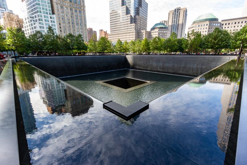 Reflecting Pools, 9/11 Memorial, New York, USA