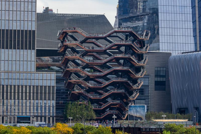Sejltur rundt om Manhattan, New York, USA