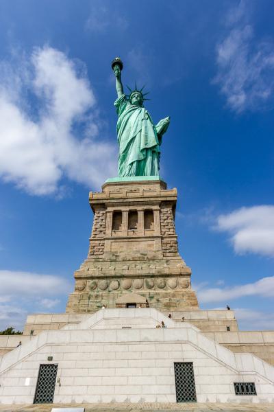 Frihedsgudinden, Liberty Island, New York, USA