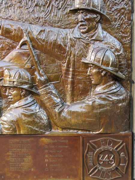 FDNY Memorial Wall, New York, USA