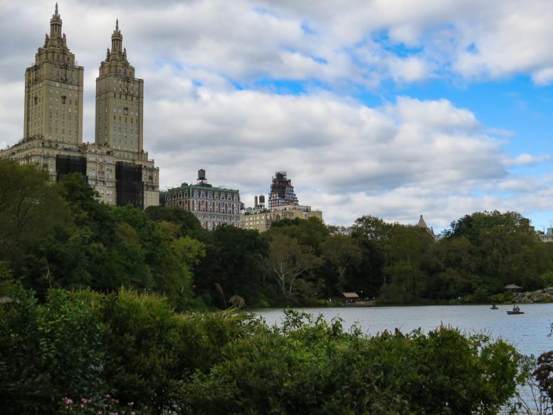 Vandretur i Central Park, New York, USA