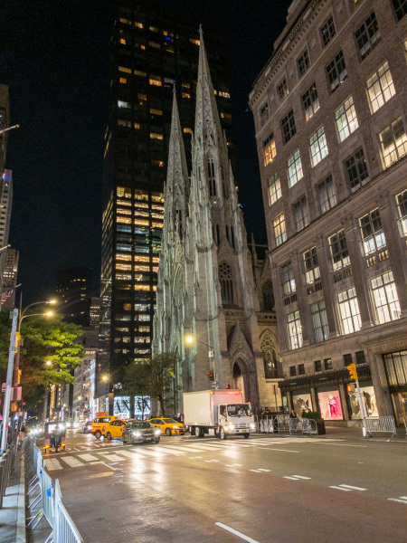 St. Patrcks Cathedral, New York, USA