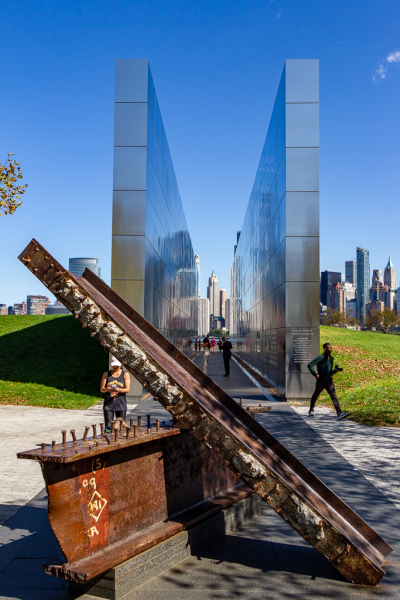 Empty Sky Memorial, Liberty State Park, New Jersey, USA