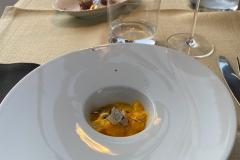 Middag på Osteria Battaglino, Dogliani, Piemonte, Italien