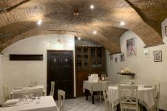 Middag på La locanda del Sorriso i Dogliani, Piemonte, Italien.