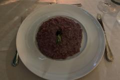 Middag på Il Torchio, Dogliani, Piemonte, Italien. Vores stamrestaurant når vi er i Dogliani, lækker mad til yderst rimelige priser.